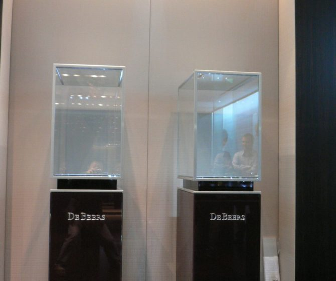 De Beers at Landmark, Central, Hong Kong